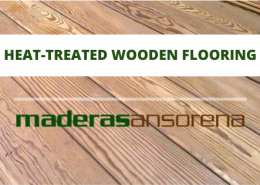 Heat-treated wooden flooring